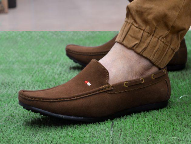 rown casual shoes lofer men