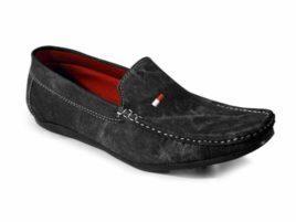 Denim Black Loafers For Men1