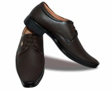 Lace Up Brown Formal Shoes