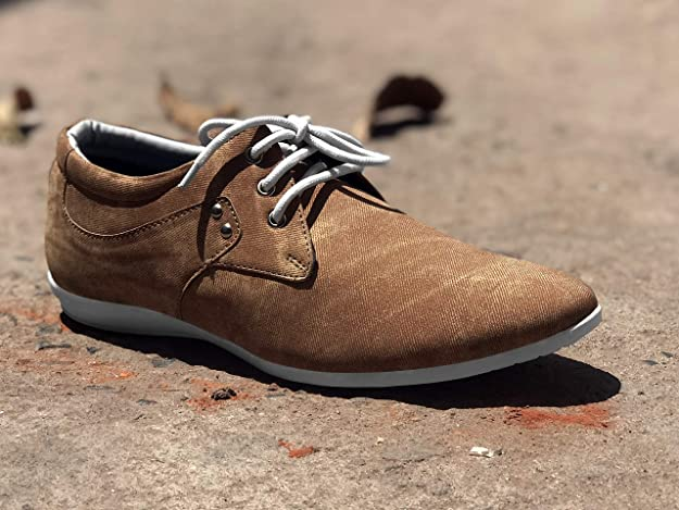 Men's Tan Casual Sneaker