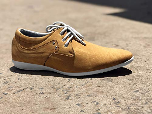Latest Casual Sneakers For Men Yellow