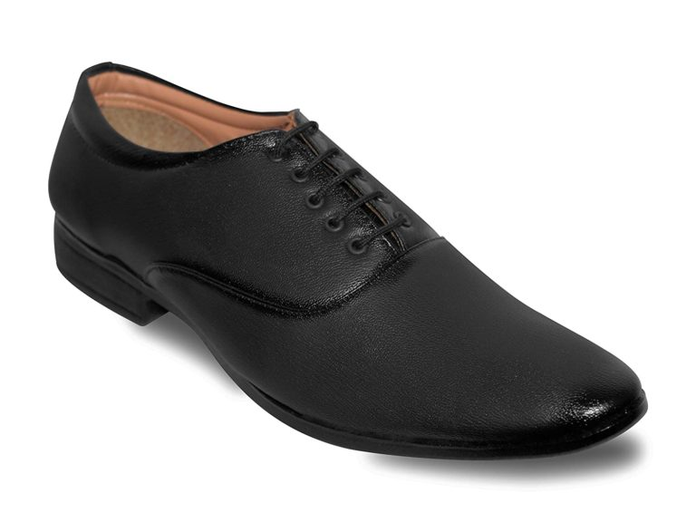 oxford black formal shoes