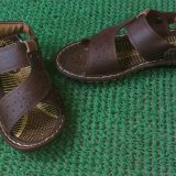 Brown flat casual waterproof sandal + Chappals