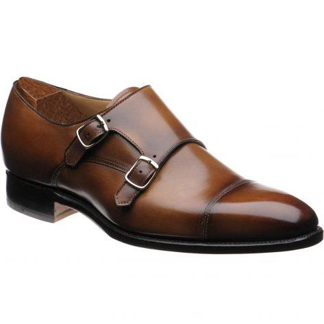 Doble Strap Monk Shoes