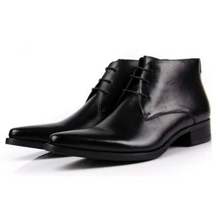 Lace Up Formal Boots