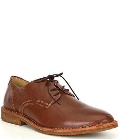 Plain Toe oxford shoes
