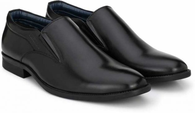 Provogue formal shoes slip on without lace