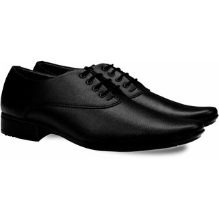 Smoky Black Formal Shoes lace up for Men