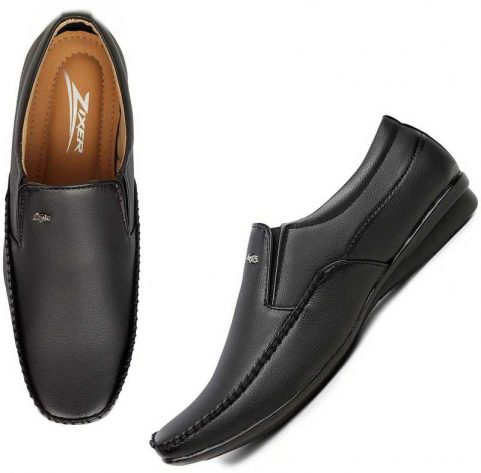 broad shape formal shoes