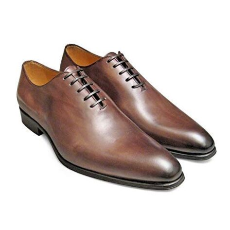 closed lacing formal shoes