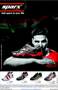 sparx relaxo top indian footwear brand