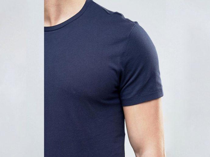 blue cotton regular fit t shirt for girls boys