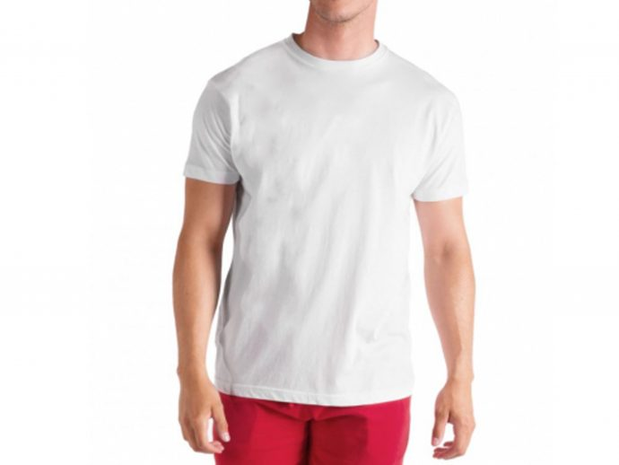 PURE COTTON WHITE T-SHIRT