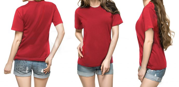 Pure Cotton Feetway Smooth Premium Quality T-Shirt For Men And Women Red5