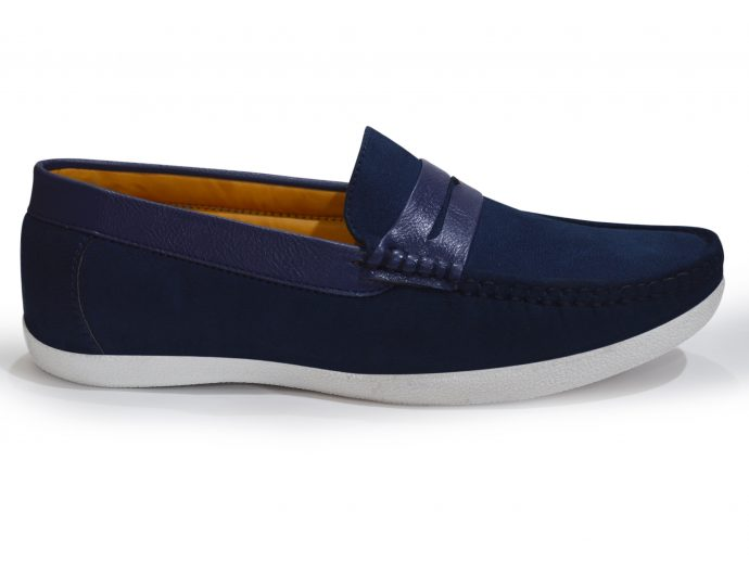 navy blue shoes mens