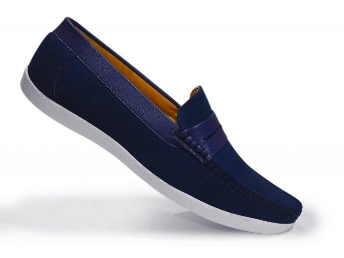 stylish designer suede leather shoes