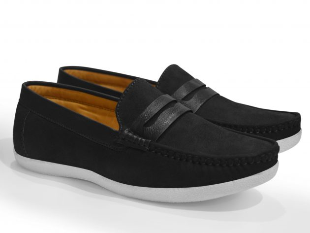 flat slip on casual shoes