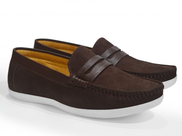 Brown Casual Loafers Men