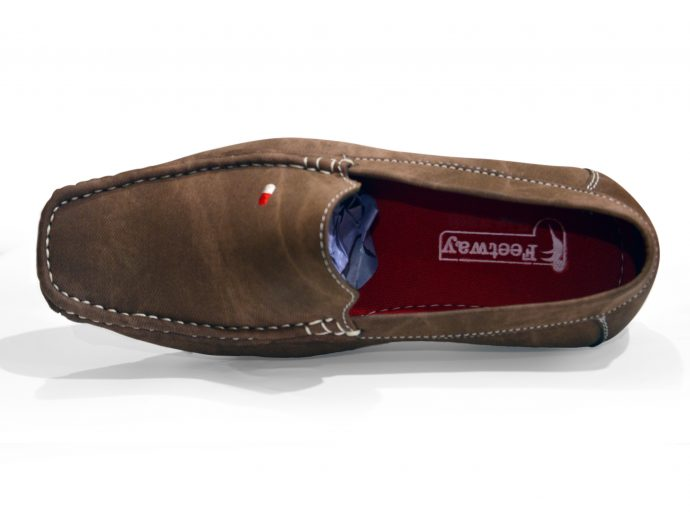 Feetway Brown Loafers for men