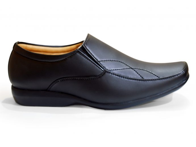BLACK FORMAL SHOES WITHOUT LACE