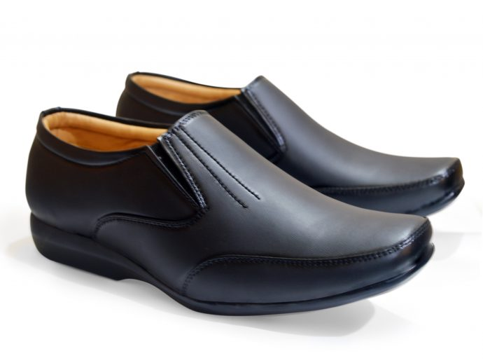 black without lace formal shoes