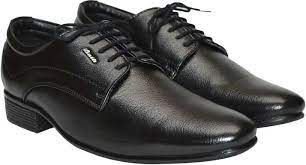 Bata Formal Shoes With Lace Black