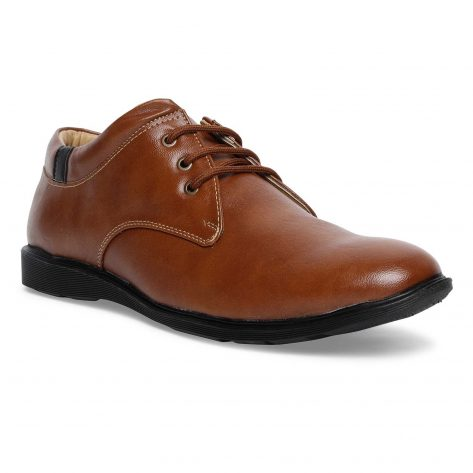 paragon formal shoes for men with lace brown office wear