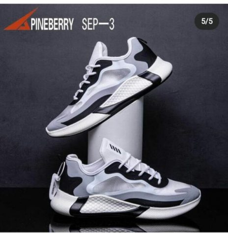 Imported Sports Shoes black running