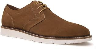 suede leather shoes for men brown