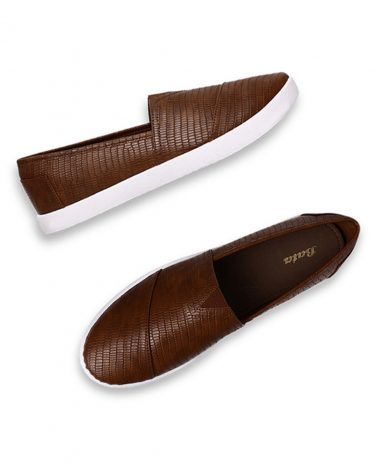 BATA Textured Silp-On Casual Shoes