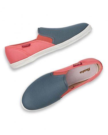 BATA Colourblock Slip-Ons Shoes