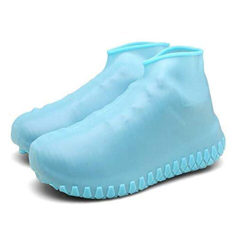 waterproof shoes cover blue